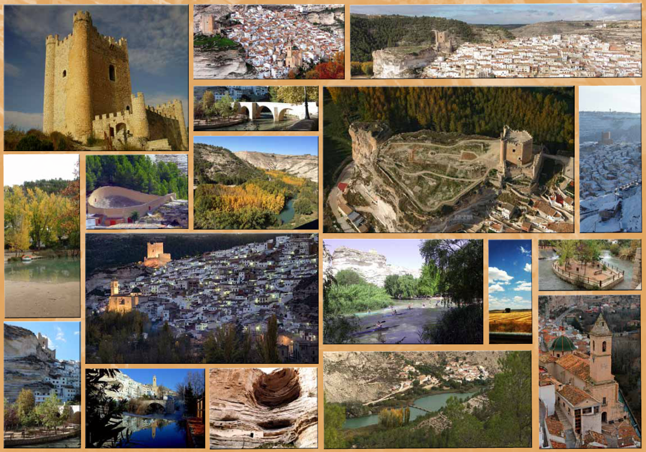 Mosáico de imágenes de Alcalá del Júcar